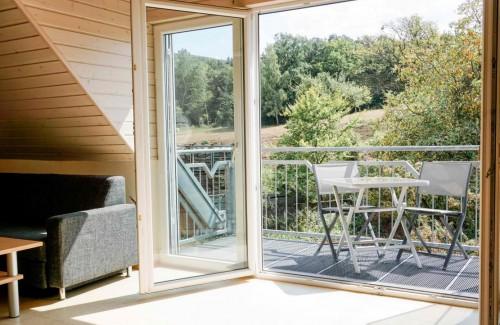 Ferienwohnung Lavendel –Balkon