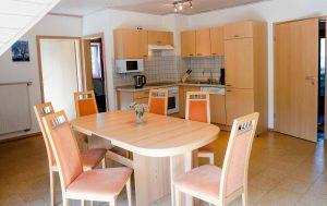 Lindleshof • Ferienwohnung Lavendel – Wohnküche