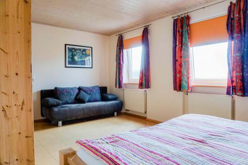 Ferienwohnung Lavendel – Schlafzimmer 1