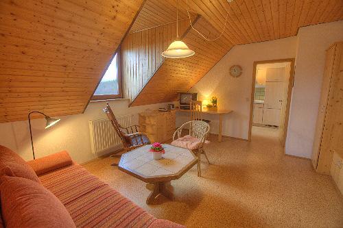 Lindleshof • Ferienwohnung Minze – Wohnzimmer