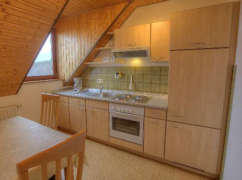 Lindleshof • Ferienwohnung Minze – Küche