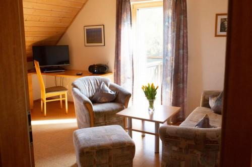 Ferienwohnung Salbei 1 –  Wohnzimmer